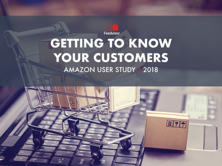 Cover of Feedvisor's 2018 Getting to Know Your Customers Amazon User Study