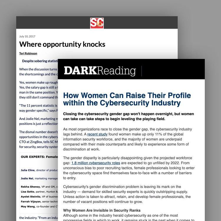 Cyber Security Chicago Event Dark Reading PR placement